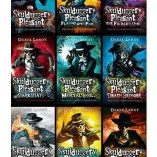 (ebooks) Skullduggery pleasant Series - a total of 9 ebooks