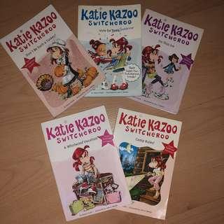 Katie Kazoo Switcheroo Books