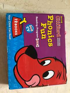Phonics Books Clifford - The Big Red Dog