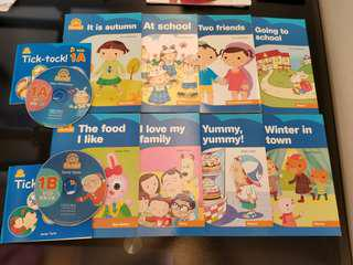 Oxford Story Books (8 pcs of books + 2VCD)