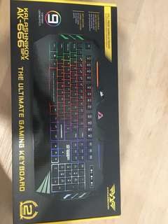 BNIB Armaggeddon AK-666 Gaming Keyboard