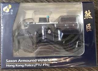 警察警車微型煞神PTU 96玩具場景Tiny 7-11限定巴士