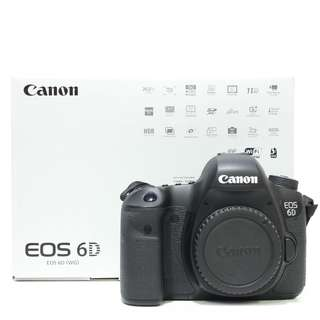 Canon EOS 6D DSLR Body Only (SC 1K)