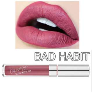Bad Habit Colourpop UML