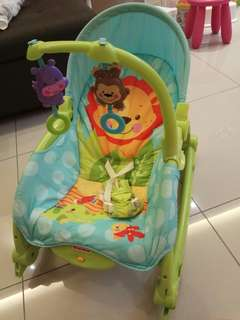 Infant Fisher Price Rocker baby bouncer rocking