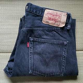 Levi's 501 W32 L34 Black Straight Jeans 牛仔褲