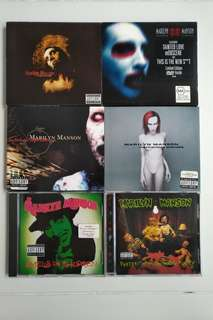 Marilyn Manson 6x CD Rock Albums