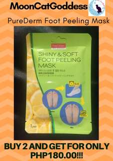 Pure Derm Shiny and Soft Foot Peeling Mask