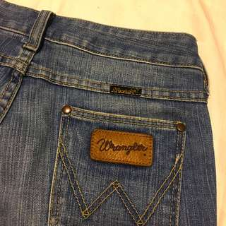 WRANGLER low waisted jeans