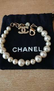Chanel 珍珠vintage bracelet 手鏈
