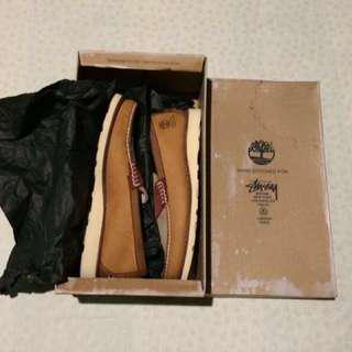 STUSSY DELUXE X TIMBERLAND LOAFERS