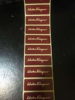 Ferragamo stickers