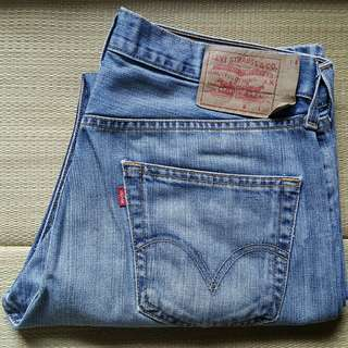 Levi's 501 W33 L30 Vintage Light Blue Straight Jeans 牛仔褲
