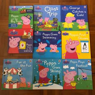 Peppa Pig 9-book collection