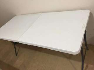 Lifetime Foldable Table (54X27)