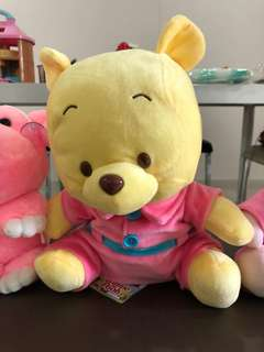 Pooh Bear & Piglet soft stuffed toy