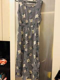 🚚 花花顯瘦洋裝