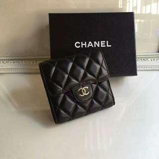 Chanel香奈兒短夾 錢夾錢包