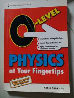 O Level Physics at your fingertips