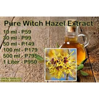 Witch Hazel - Organic Pure Extract