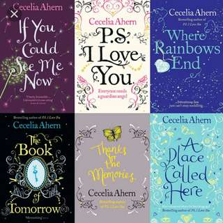 Cecelia Ahern Ebooks ( NAME ANY , I HAVE IT )