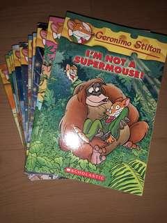12 (+2 FREE) Geronimo Stilton Books