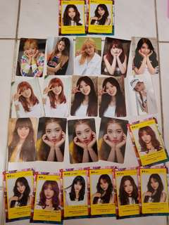 [PHOTOCARDS CLEARENCE] Weki Meki Official Photocards