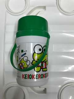 "1990"" kerokerokeropi water bottle"