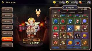Selling dragon nest m s24 account