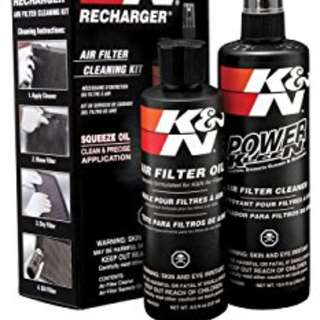 ORIGINAL K&N RECHARGE AIR FILTER CARE SERVICE KIT - ALWAYS IN-STOCK UNLESS STATED