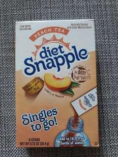 Diet Snapple (singles to go) - Pre Order Basis