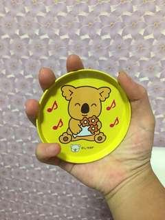 🚚 小熊餅乾杯墊✖️4 1個15