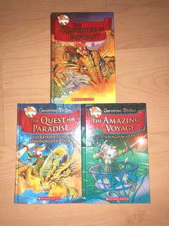 Geronimo Stilton's The Kingdom of Fantasy (First 3 Books)