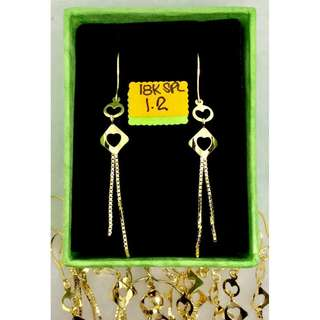18K Special Saudi Gold (Earrings)