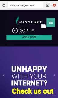 Converge Internet Fiber