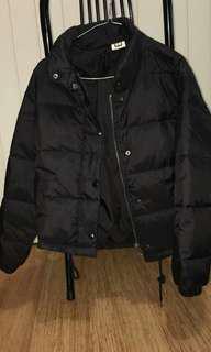Insight Shook Up Puffer Jacket Black xs