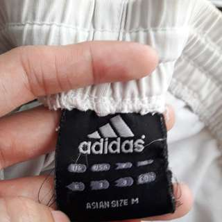 Authentic Adidas Track Shorts