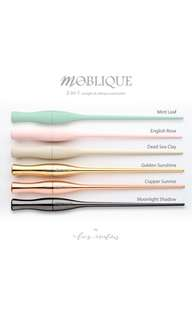 Moblique (straight and oblique) dip pen holder