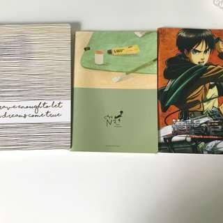 notebooks :)