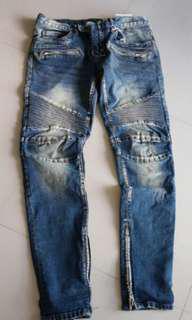 Mnml biker jeans 33