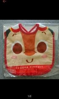 🚚 日本製 限定鈴木賽道 嬰幼兒圍兜