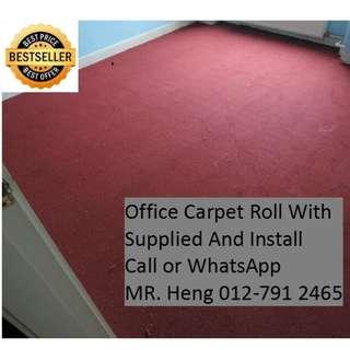 Bukit Jelutong Office Carpet Roll Call Mr. Heng 012-7912465