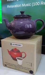 全新LE CREUSET small teapot with infuser 茶壺