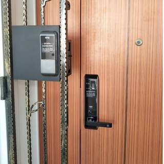 Epic EF-8000L Digital Lock (Made In Korean) with 1+2 Years Warranty and Free Installation Call 96177025 Leon