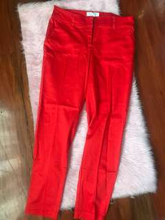 FOREVER21 JEANS (RED)