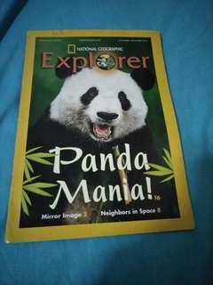 National Geographic Explorer Magazines