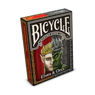 Bicycle Elves and Orcs Playing Cards