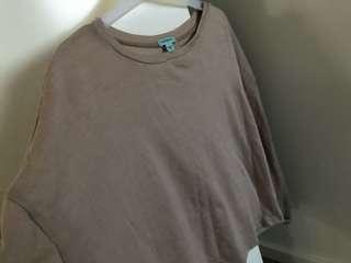 KOOKAI merino wool tan/camel thin long sleeve