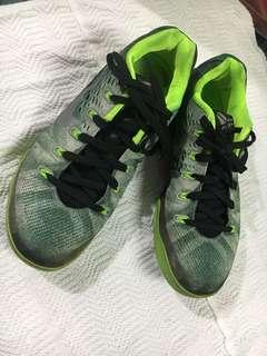 Nike Kobe 9 Low Grey Black Green Shoes