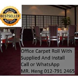 Bukit Rotan Putra Office Carpet Roll Call Mr. Heng 012-7912465